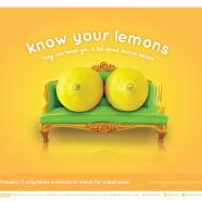 #Knowyourlemons: a sostegno della prevenzione
