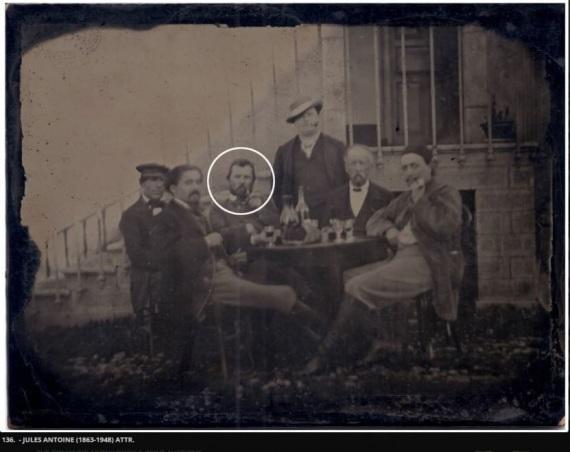 La foto oggetto di critiche: si tratta di Vincent Van Gogh?