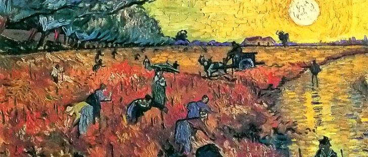 Vincent Van Gogh, La Vigne Rouge
